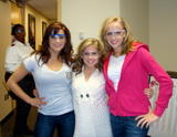 Shawn Johnson, Nastia Liukin and Alicia Sacramone Tour The Cover Girl HQ 29/10/08 - 3x (HQ)