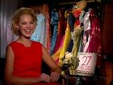 Katherine Heigl 27 dresses E talk interview video
