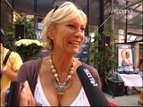 Sabine Christiansen - former german TV presenter ( . )( . )
