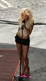 Christina Aguilera Filming Pepsi Ad Foto 286 (�������� ������� ������ ���������� Pepsi ���� 286)