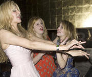 Rachel Hurd-Wood, Emma Roberts & Tamsin Egerton - Brit Awards After Party, 2010-02