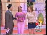 Galilea Montijo tight pink pants Vida TV