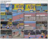 Natalyia Dobrynska - Long jump video @ 2009 Aviva